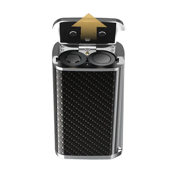 Majesty 225W Carbon fiber kit inkl TFV8-X-Baby tank  2.0ml