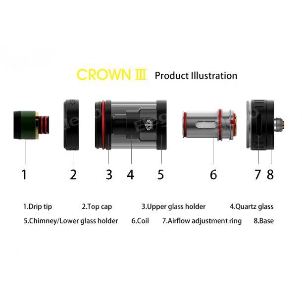 Uwell Crown III mini 2.0ml