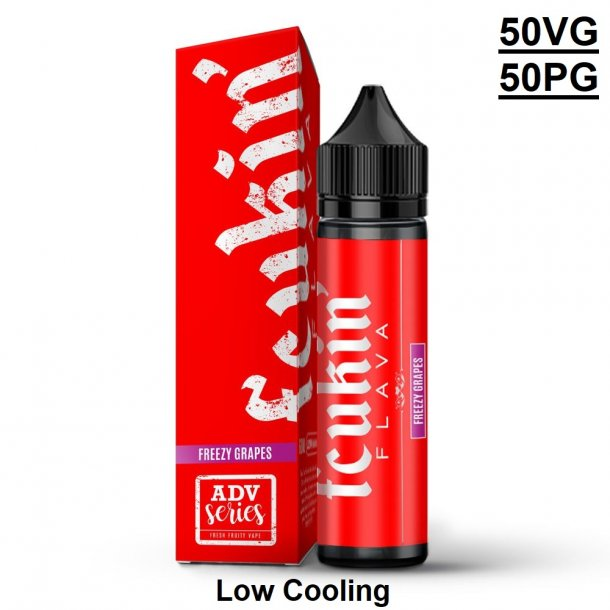 (RED EDITION) -  Freezy Grapes 60ml
