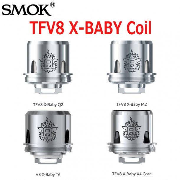 3stk Coils TFV8 X-Baby